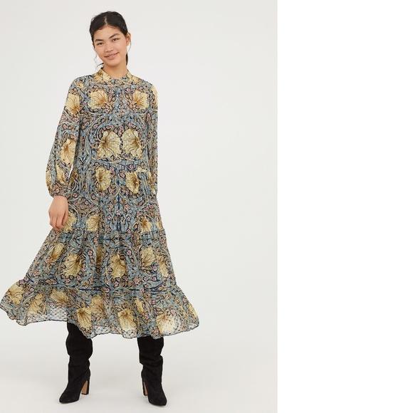 4ff8f46cde3 H M Dresses   Skirts - William Morris   Co x H M Floral Maxi Dress ...